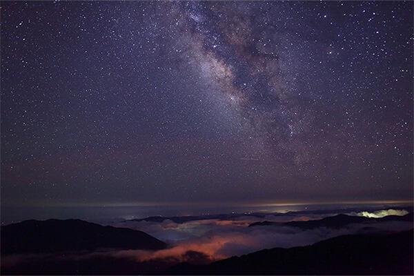 高知県津野町の星空